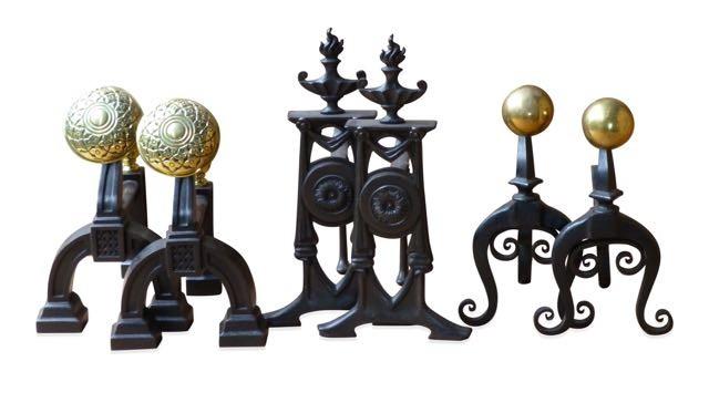Unsere Sammlung von antike Supports für Kaminbesteck