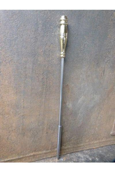 Polierter Stahl Schürhaken aus 32,33