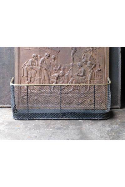 Viktorianischer Kaminschutzgitter aus 15,16