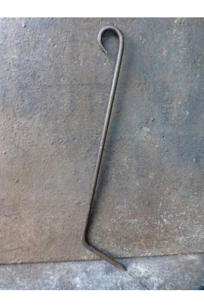 Antiker Holländischer Schürhaken aus 15