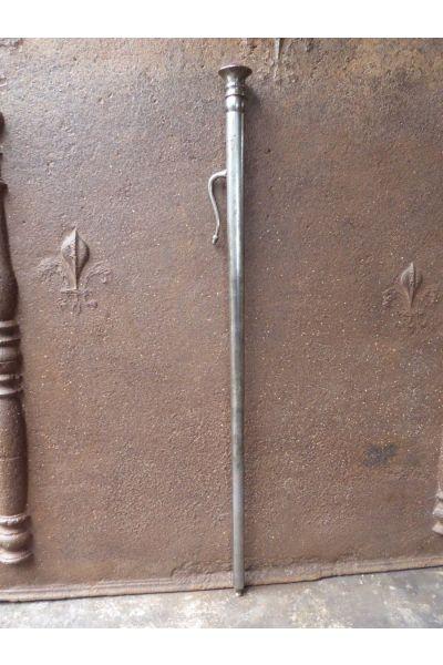 Polierter Stahl Blasrohr Kamin aus 16,32