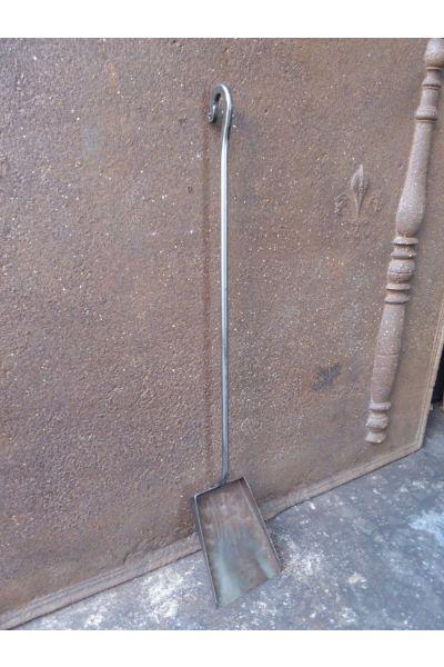Polierter Stahl Kaminschaufel aus 32
