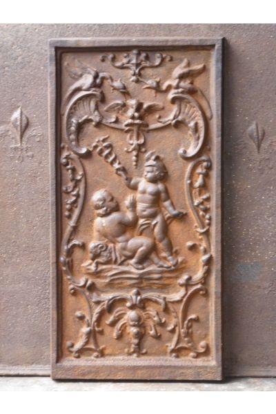 Kaminplatte 'Merkur' aus 14