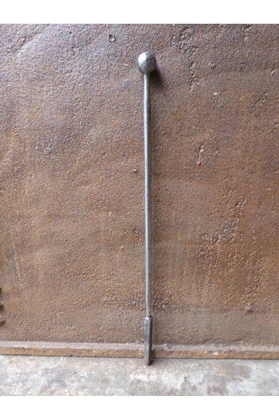 Polierter Stahl Schürhaken aus 32