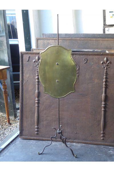 Antikes Französisches Funkenschutzgitter aus 15,16