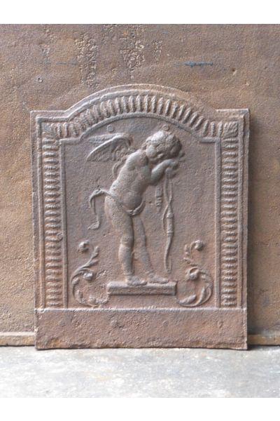 Kaminplatte 'Cupido' aus 14