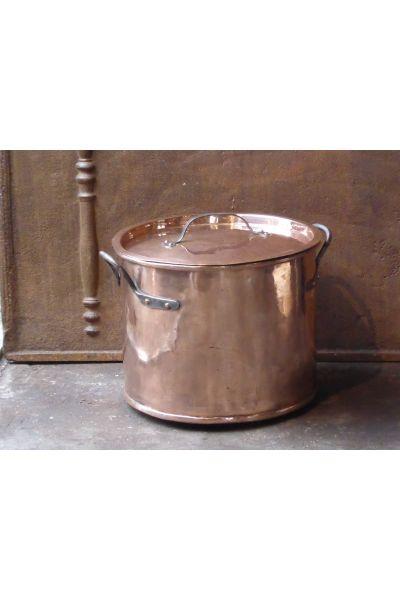 Holzkorb Poliertes Kupfer aus 15,47