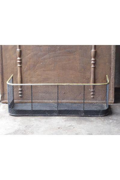 Viktorianischer Kaminschutzgitter aus 16,154,155