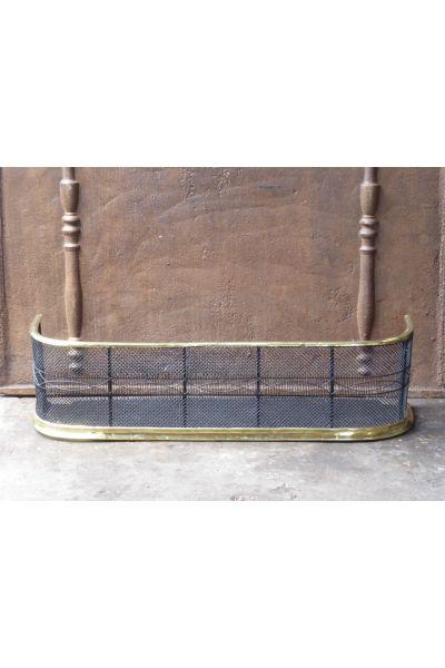 Viktorianischer Kaminschutzgitter aus 33,154,155