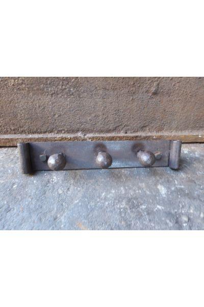 Antiker Support für Kaminbesteck aus 14,15