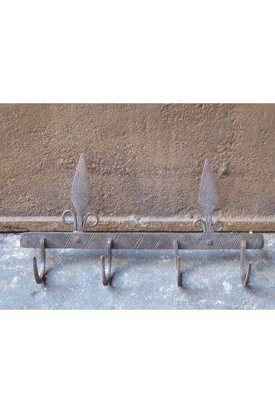 Antiker Support für Kaminbesteck aus 15