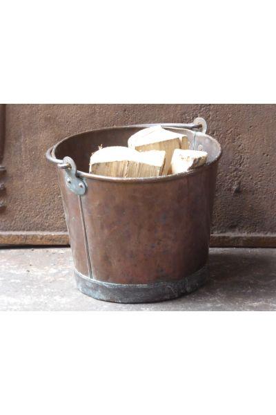 Kleiner Antiker Kaminholzkorb aus 15,31