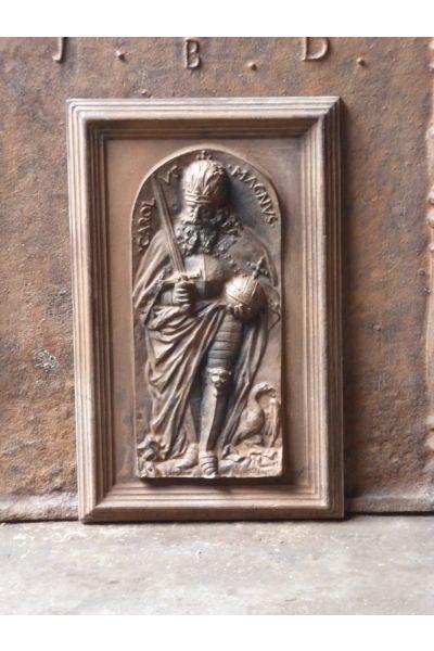 Kaminplatte 'Karl der Große' aus 14