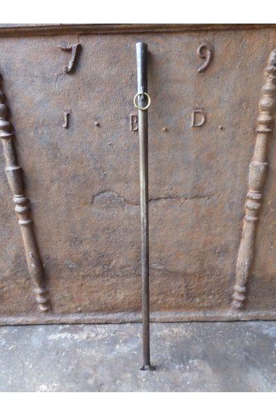 Großer Blasrohr Kamin aus 15,16