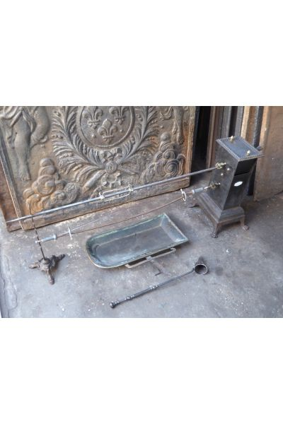 Großer Antiker Kamingrill aus 14