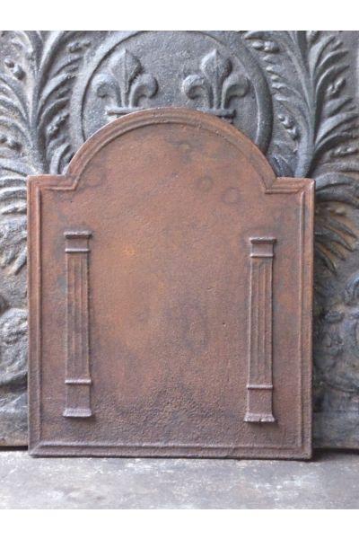 Kaminplatte 'Säulen der Freiheit' aus 14