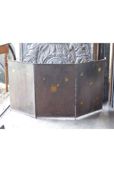 Antikes Französisches Funkenschutzgitter aus 16,155