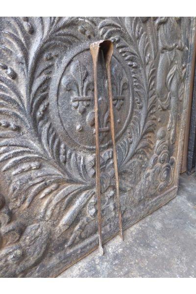 Antike Französische Kaminzange aus 15