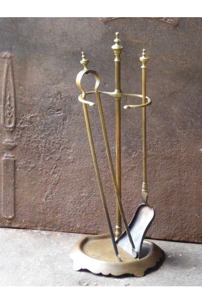 Antikes Französisches Kaminbesteck aus 16