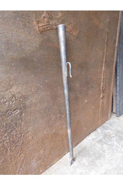 Schmiedeeiserner Blasrohr Kamin aus 15