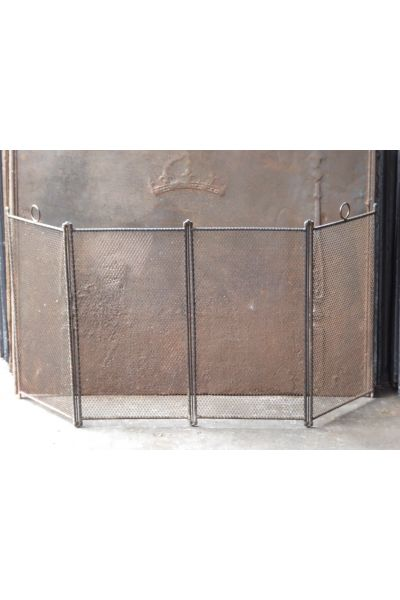 Großer Antiker Französischer Funkenschutz aus 14