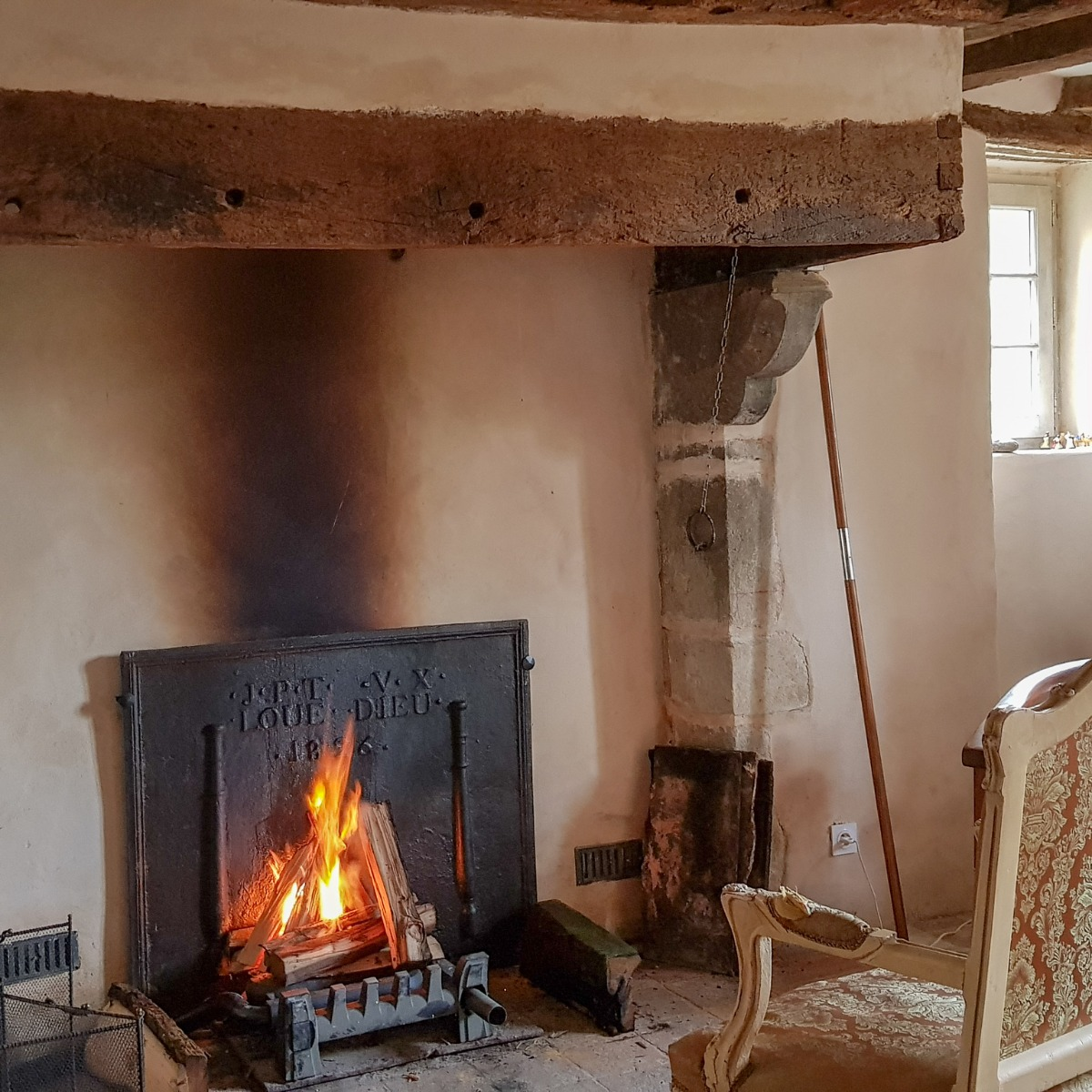 Kamin Chateau Gontier