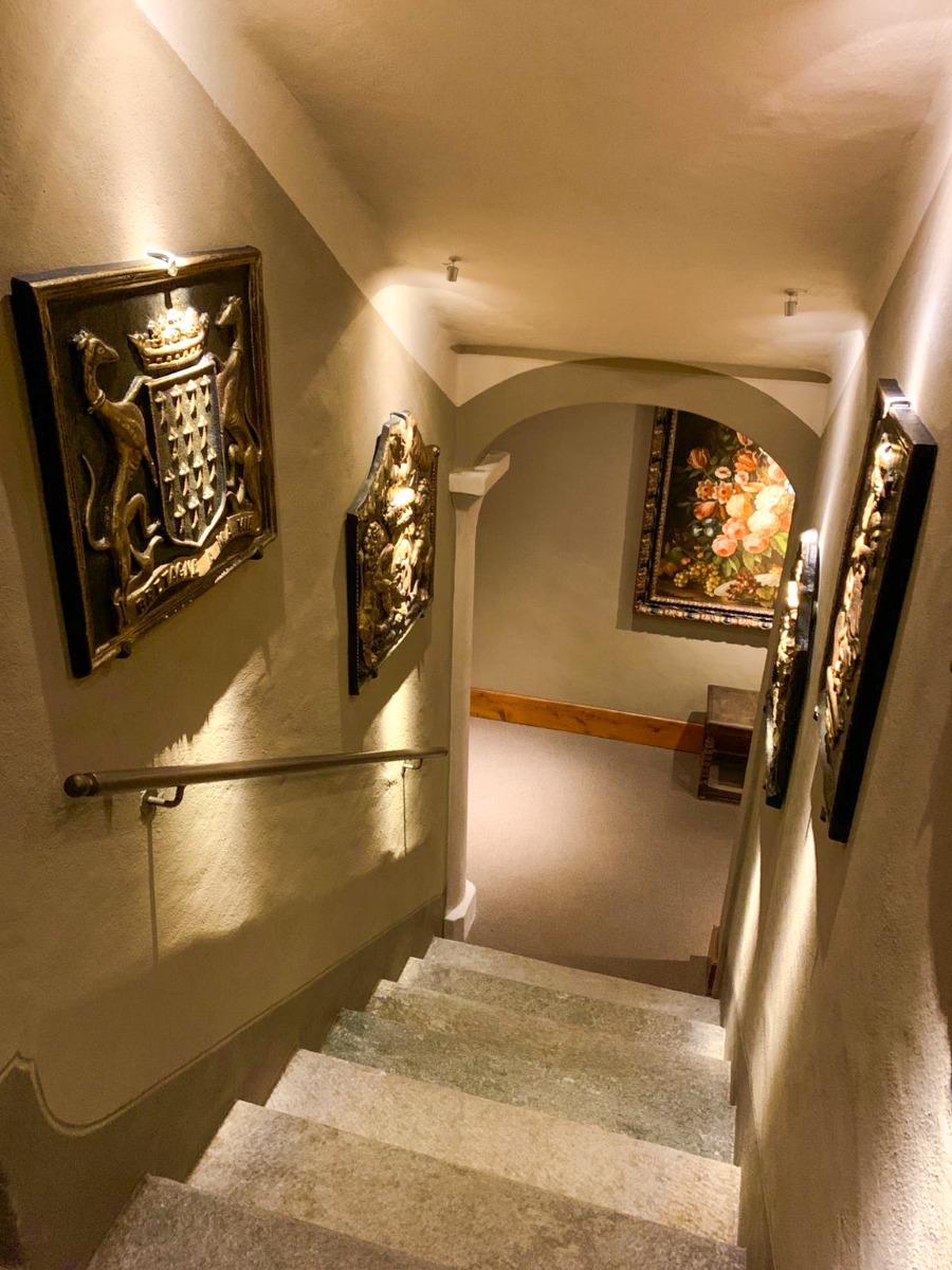 Kaminplatten als Dekoration