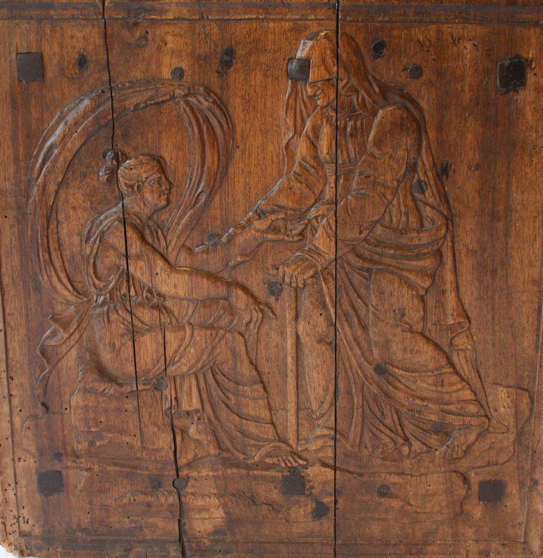 Holzvorlage für Kaminplatte