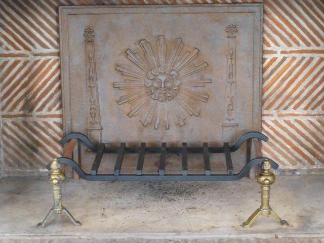 Ofenplatte installiert in Museum Voorlinden von www.kaminplatte.de