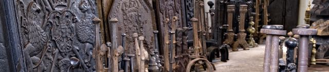 Gusseiserne Kaminplatten für Kamin
