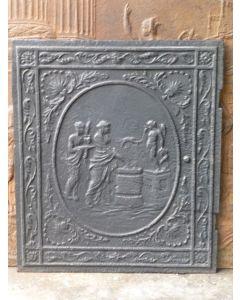 Neoklassizistische Kaminplatte