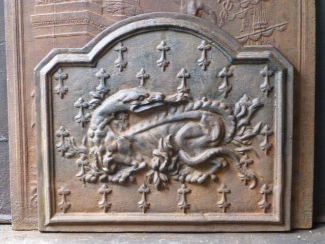 Renaissance-Stil Kaminplatte